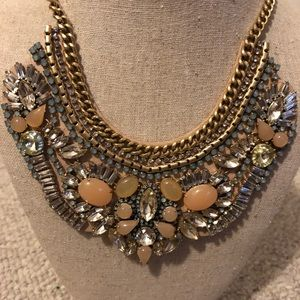 Stella & Dot Giverny Bib Statement Necklace